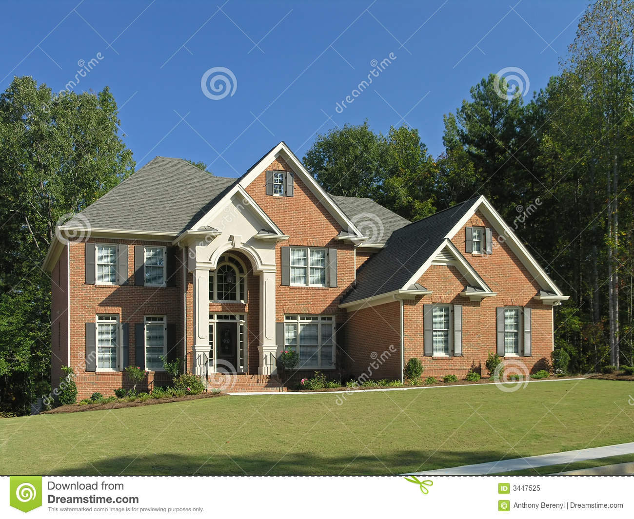 Luxury Home Exterior 10 Royalty Free Stock Photo Image