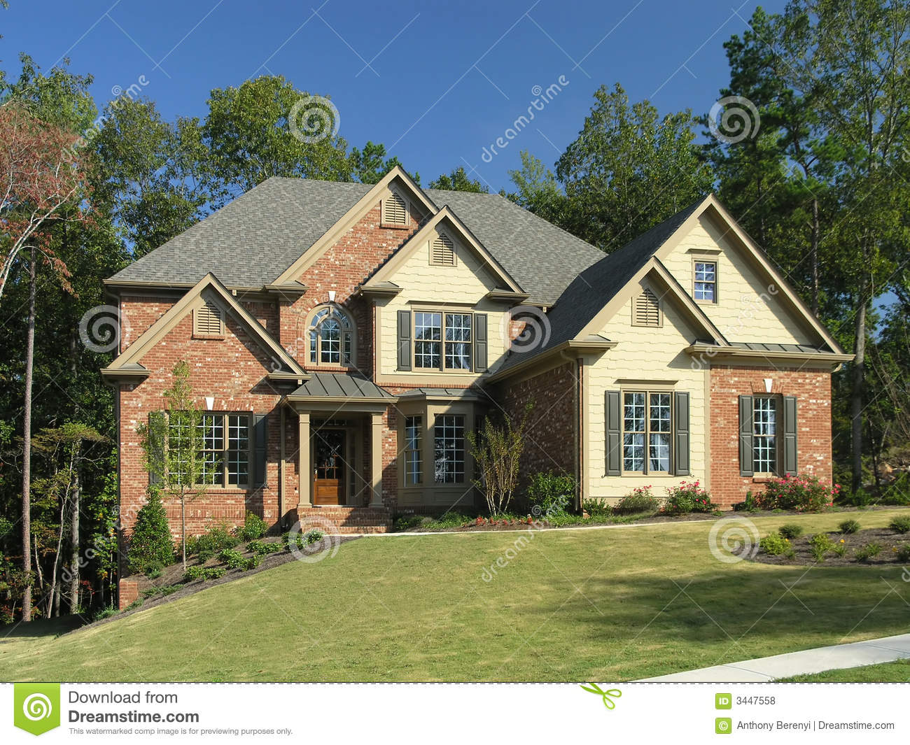 Luxury Home Exterior 11 Royalty Free Stock Photos Image