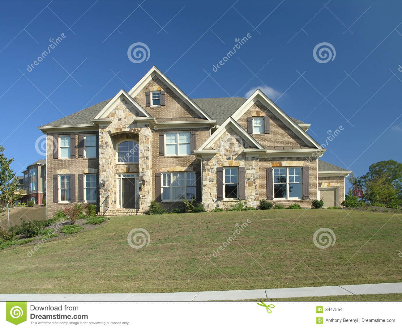 Luxury Home Exterior 12 Stock Images Image 3447554