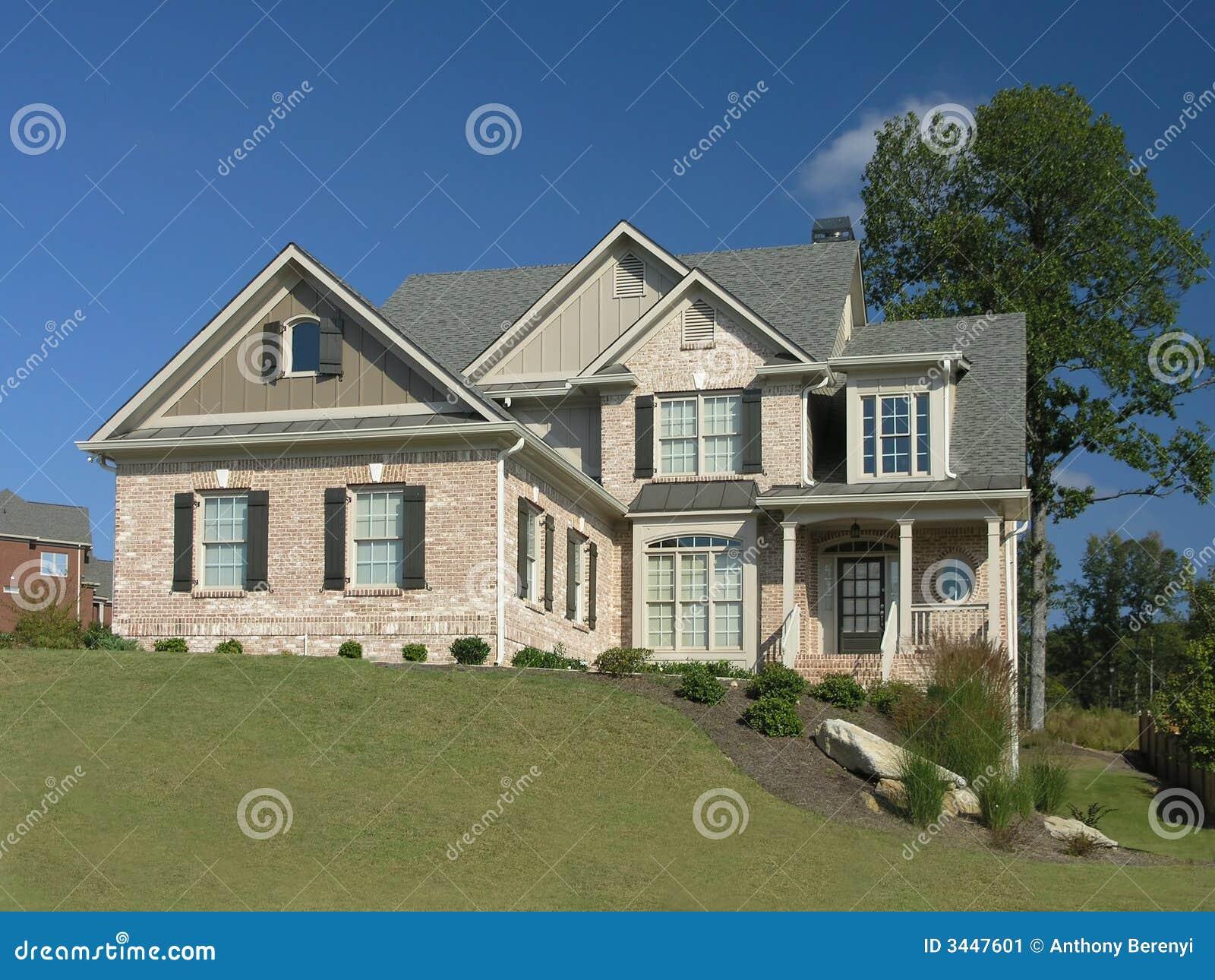 Luxury Home Exterior 13 Stock Image Image 3447601