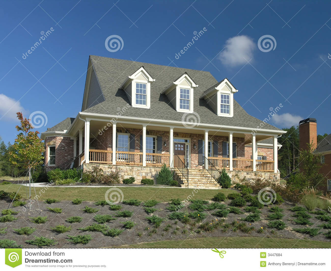 Luxury Home Exterior 17 Stock Images Image 3447684