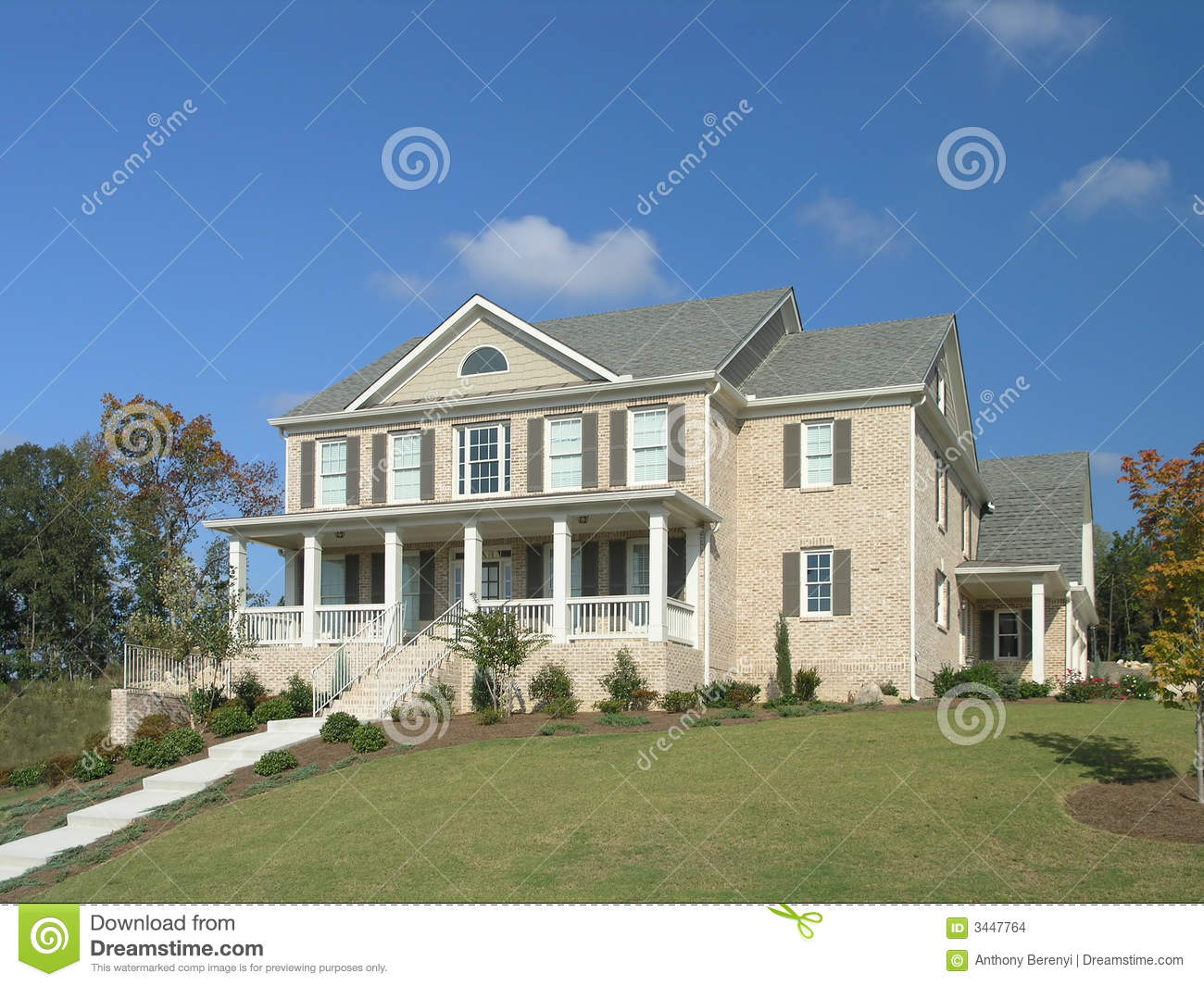 Luxury Home Exterior 19 Stock Images Image 3447764