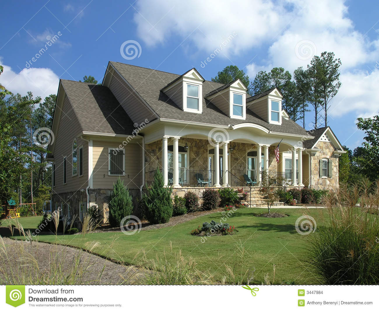 Luxury Home Exterior 27 Stock Images Image 3447984