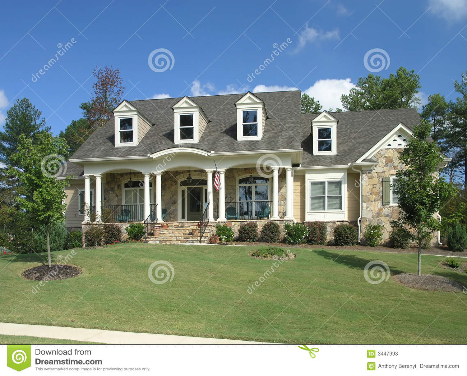 Luxury Home Exterior 28 Stock Photos Image 3447993