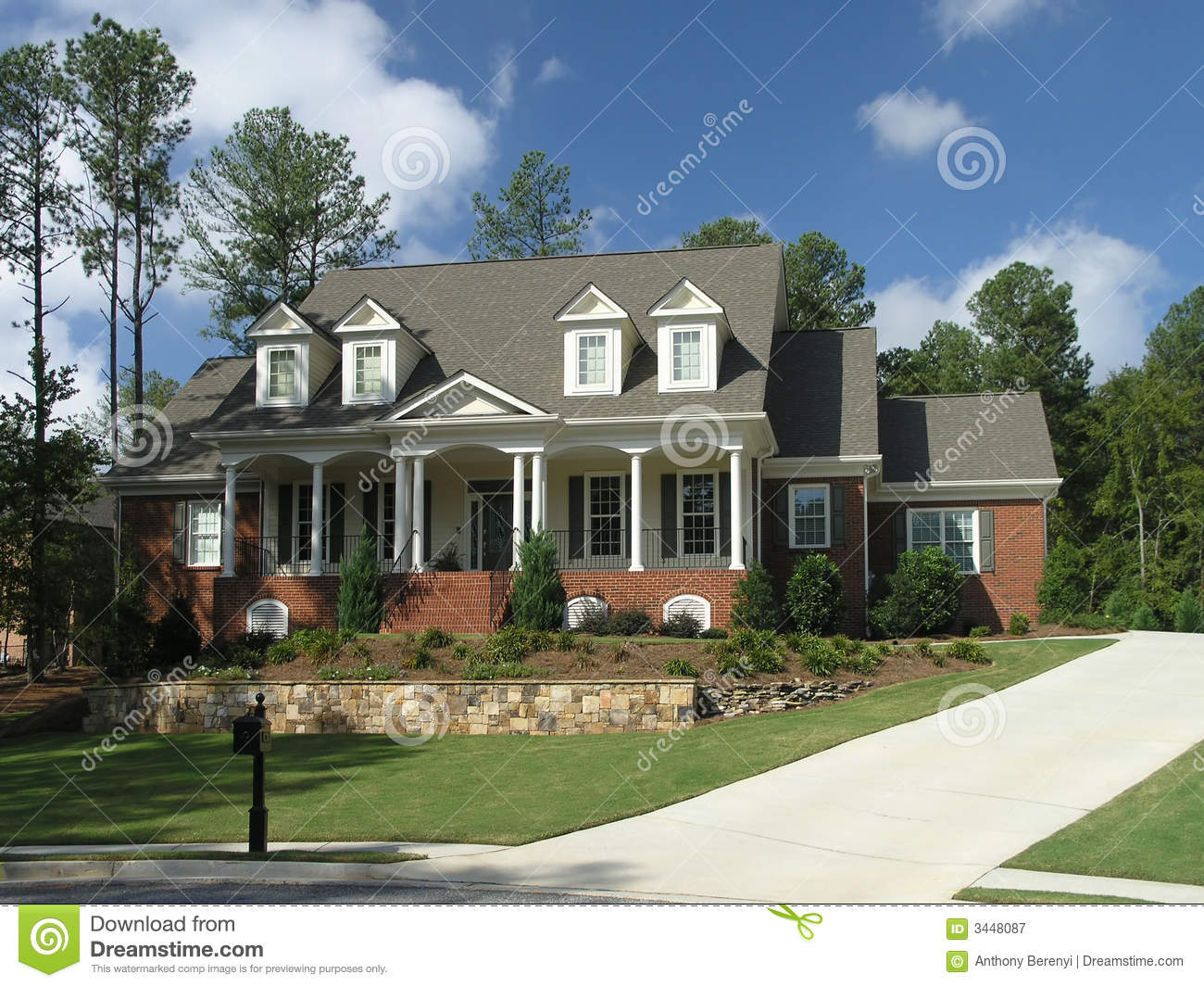 Luxury Home Exterior 32 Royalty Free Stock Photography