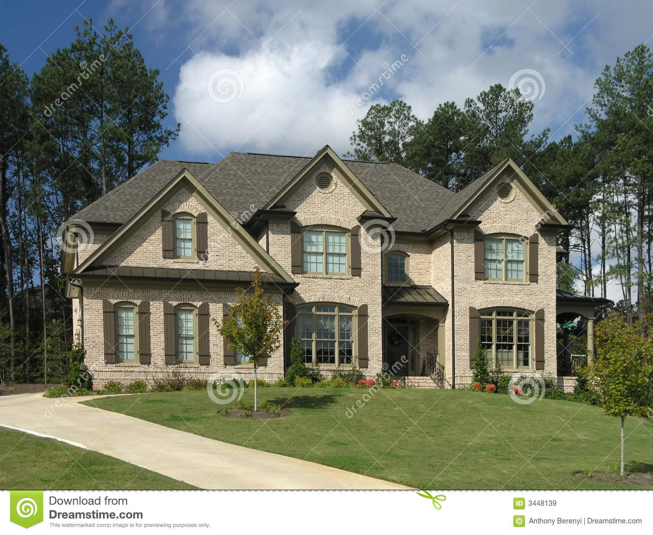 Luxury Home Exterior 34 Royalty Free Stock Images Image