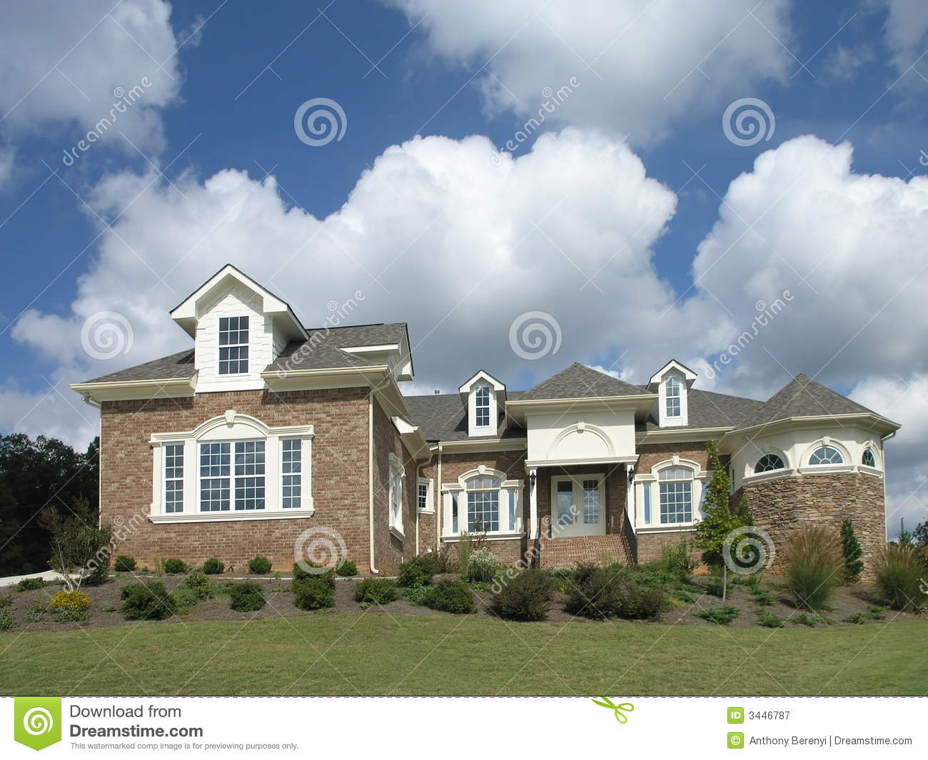 Luxury Home Exterior 36 Royalty Free Stock Photography