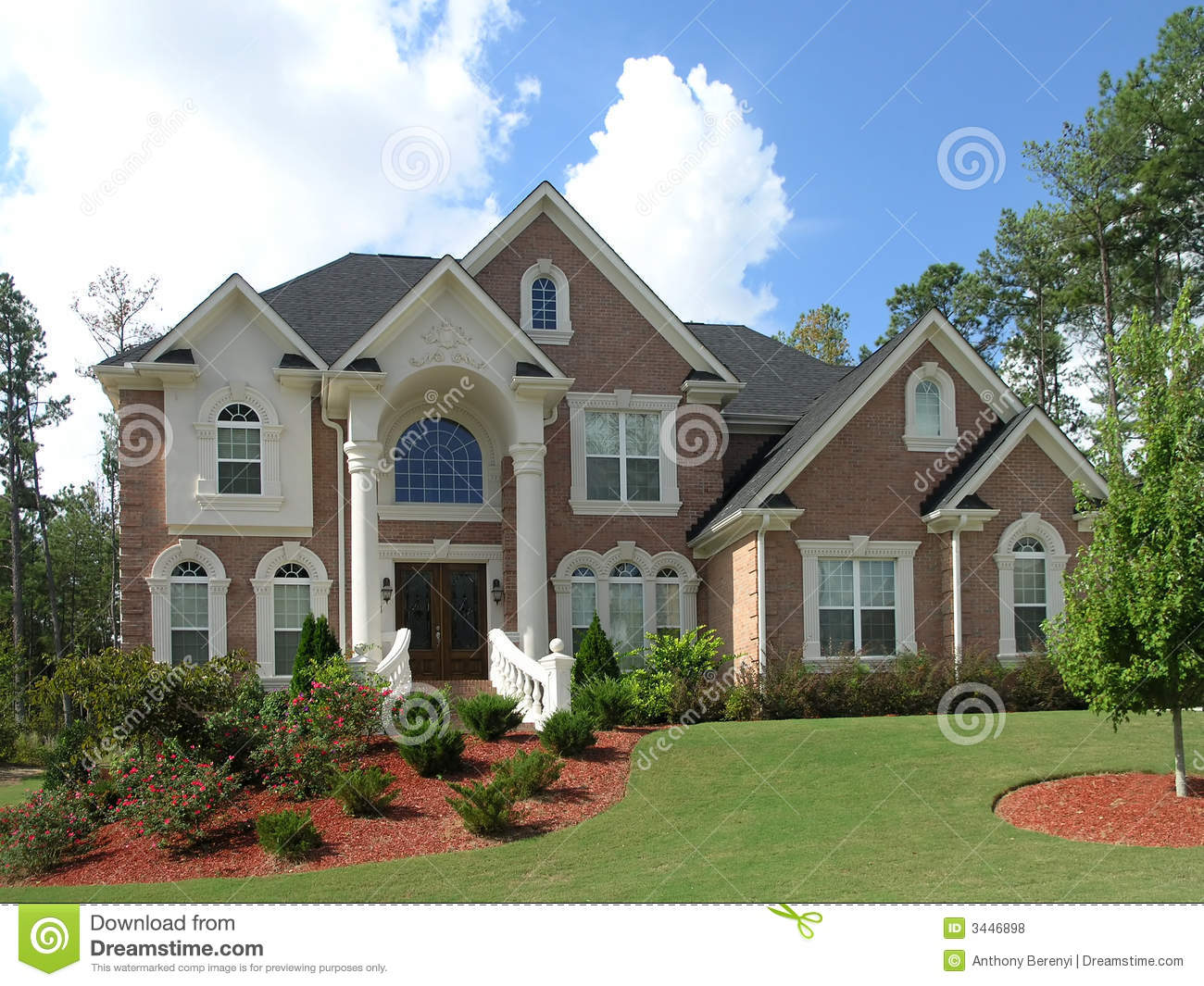 luxury home exterior 39 - Luxury Homes Exterior Brick