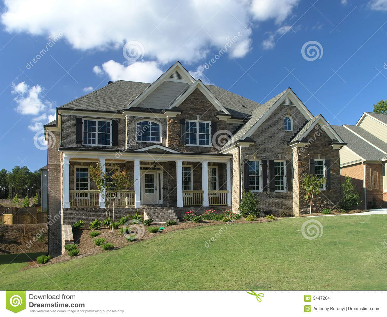 Luxury Home Exterior 50 Stock Images Image 3447204