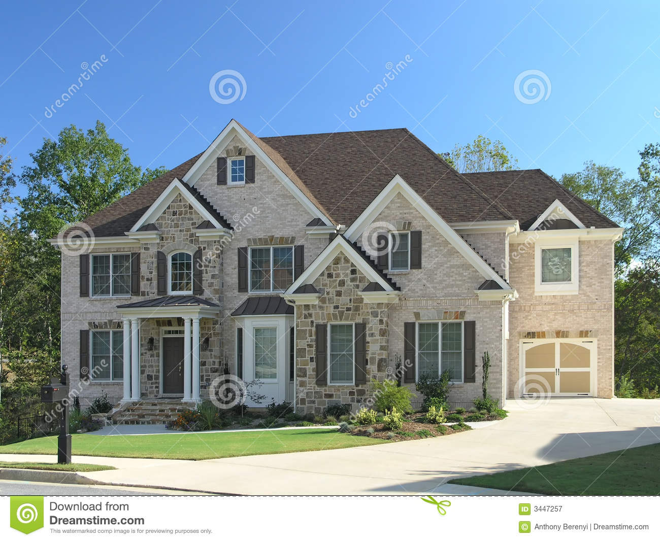 Luxury Home Exterior 52 Royalty Free Stock Photography