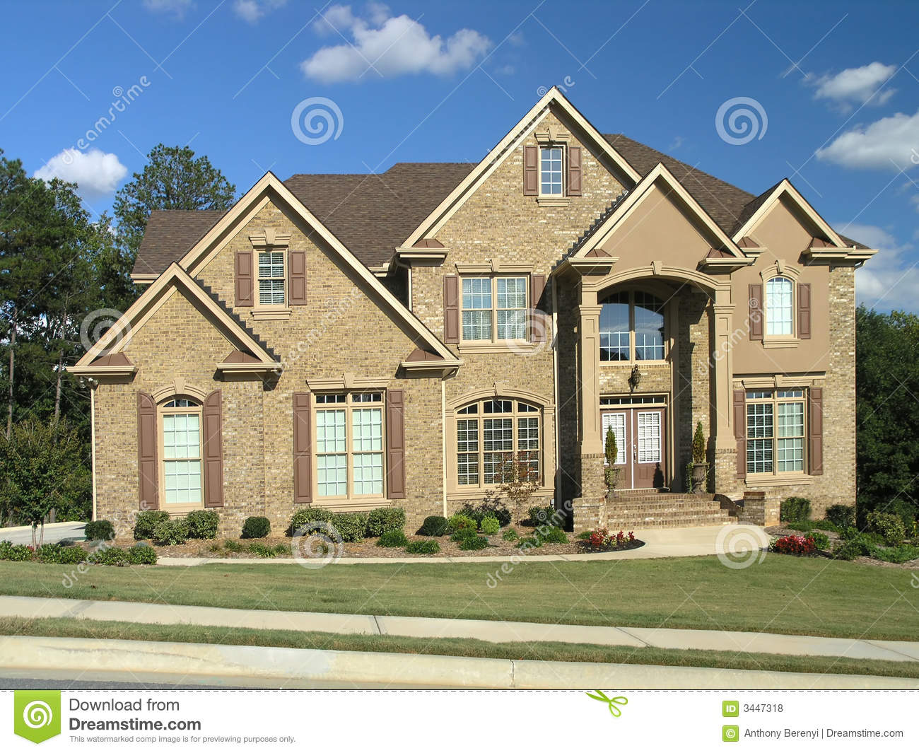 Luxury Home Exterior 53 Royalty Free Stock Photos Image