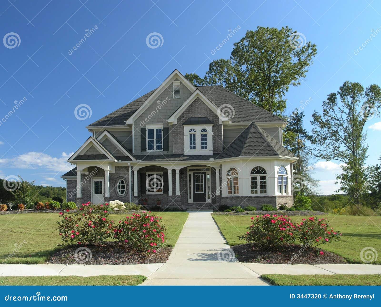 Luxury Home Exterior 54 Stock Photo Image 3447320