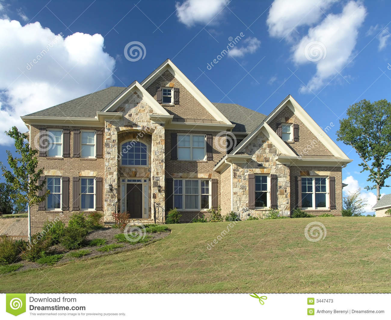 Luxury home exterior 57 stock photos image 3447473 for Luxury home exterior