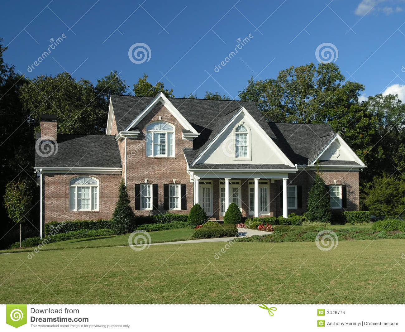 Luxury Home Exterior 61 Royalty Free Stock Image Image