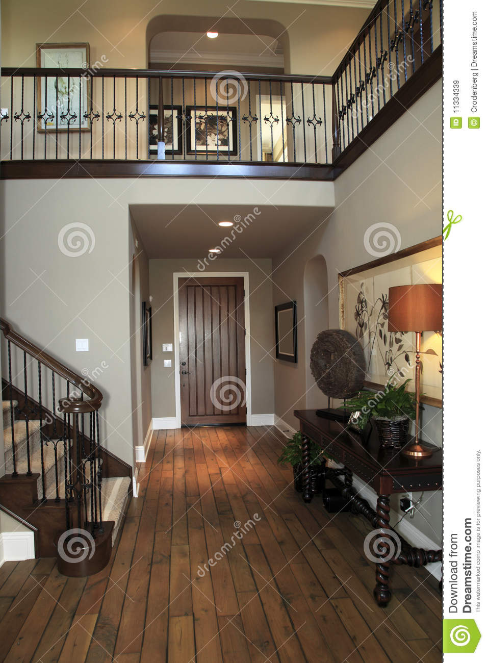 Luxury home hallway royalty free stock images image for Free luxury home images