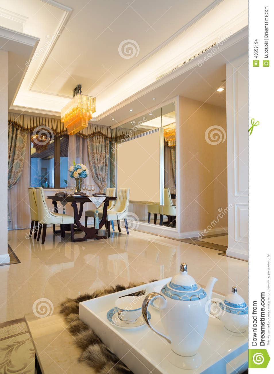 Luxury home interior stock photo image 43659194 for Nice house decoration