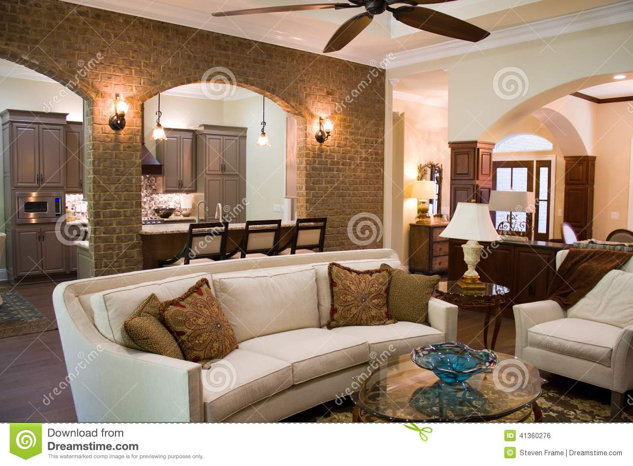 Luxury Home Interior Stock Photo Image 41360276