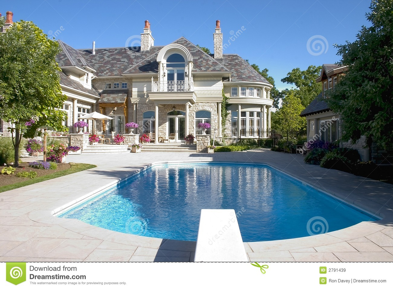 Luxury home pool shot stock image image of luxury for What is a luxury home