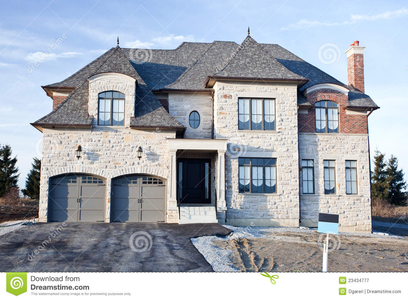 Luxury homes royalty free stock photography image 23434777 for Free luxury home images