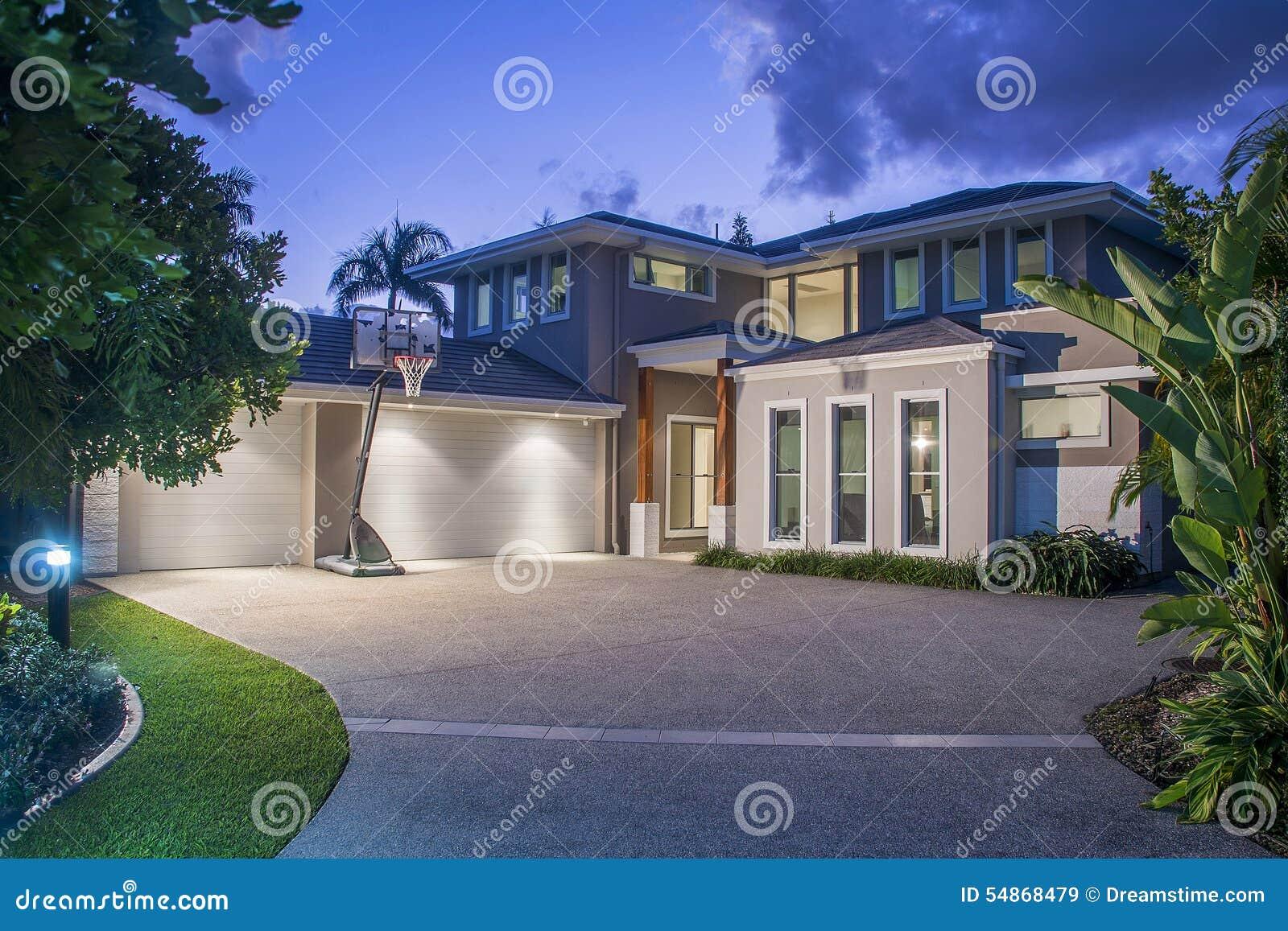 Luxury Homes Stock Photo Image 54868479