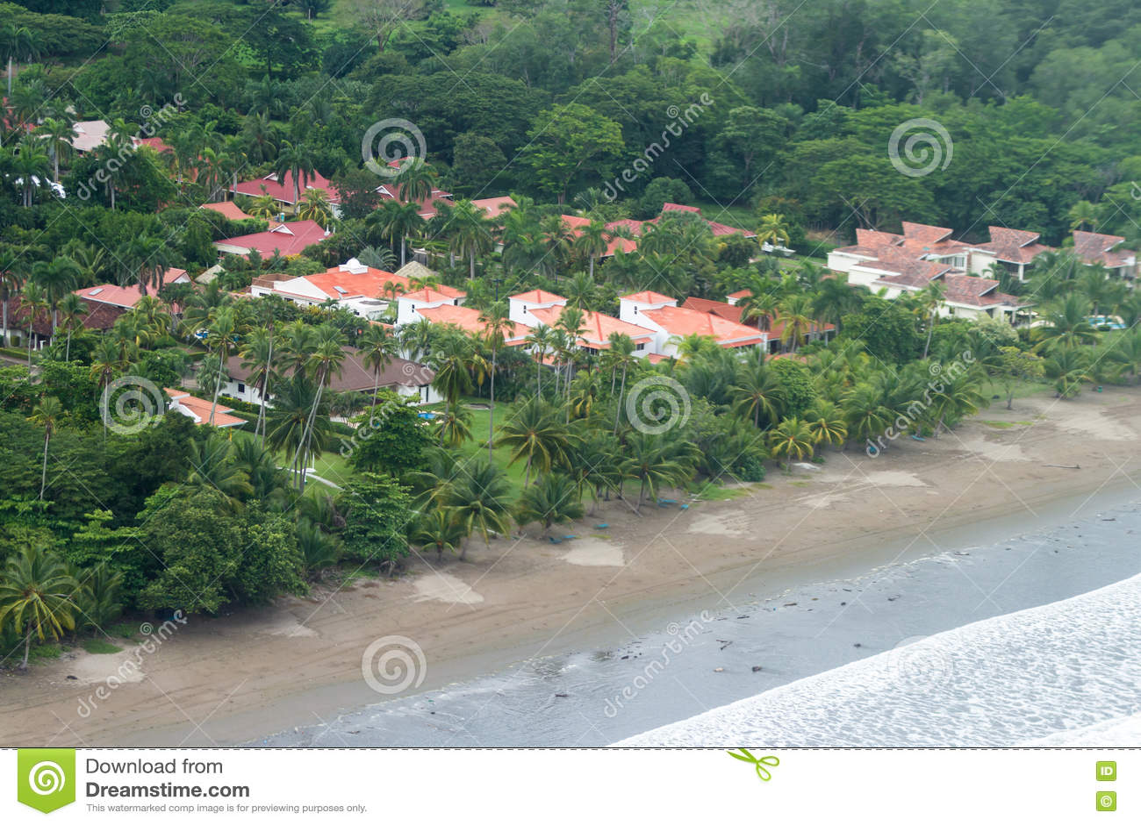 Luxury Beach Homes Royalty Free Stock Image