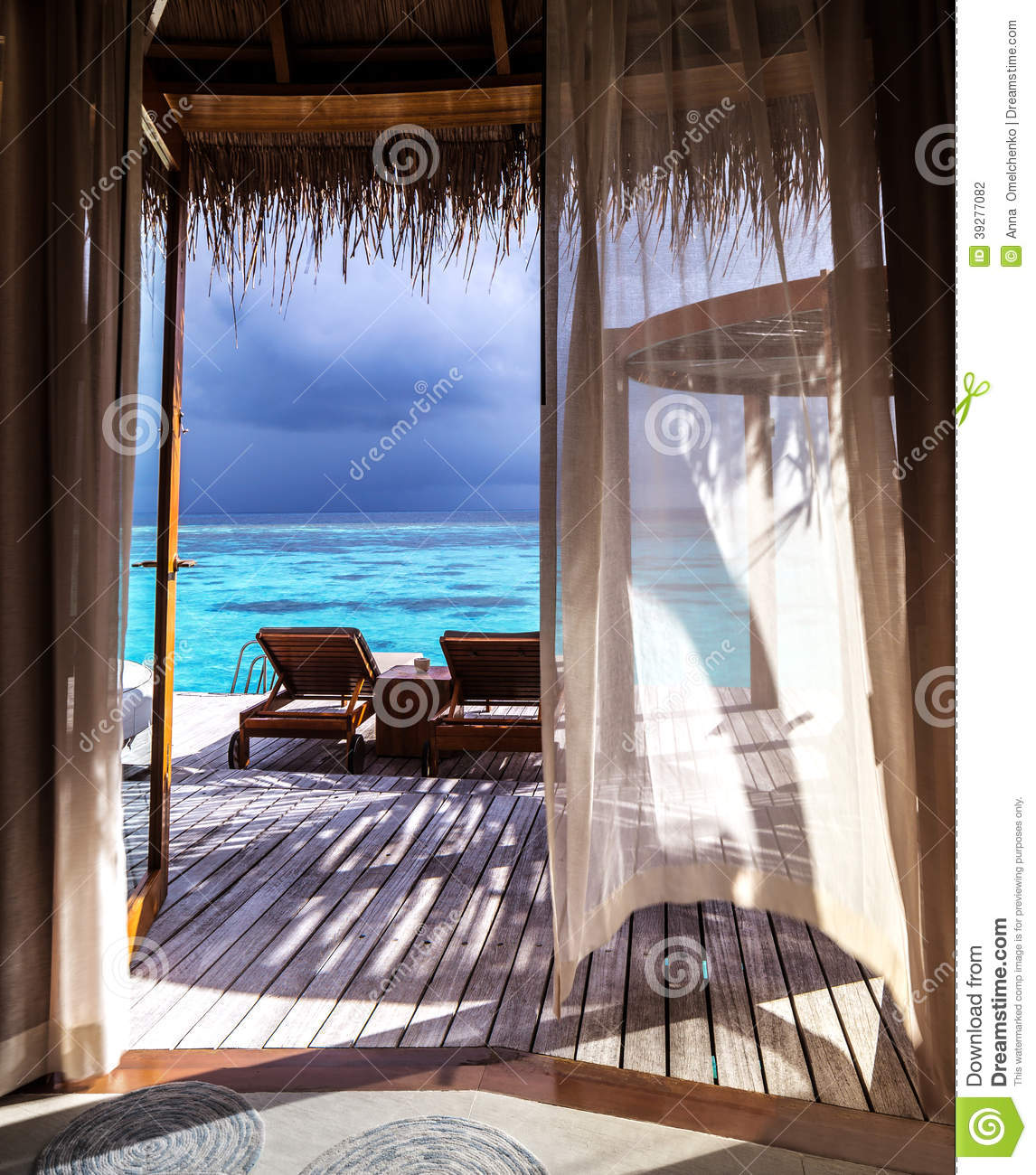 Luxury honeymoon stock photo image of beach holiday for Luxury places