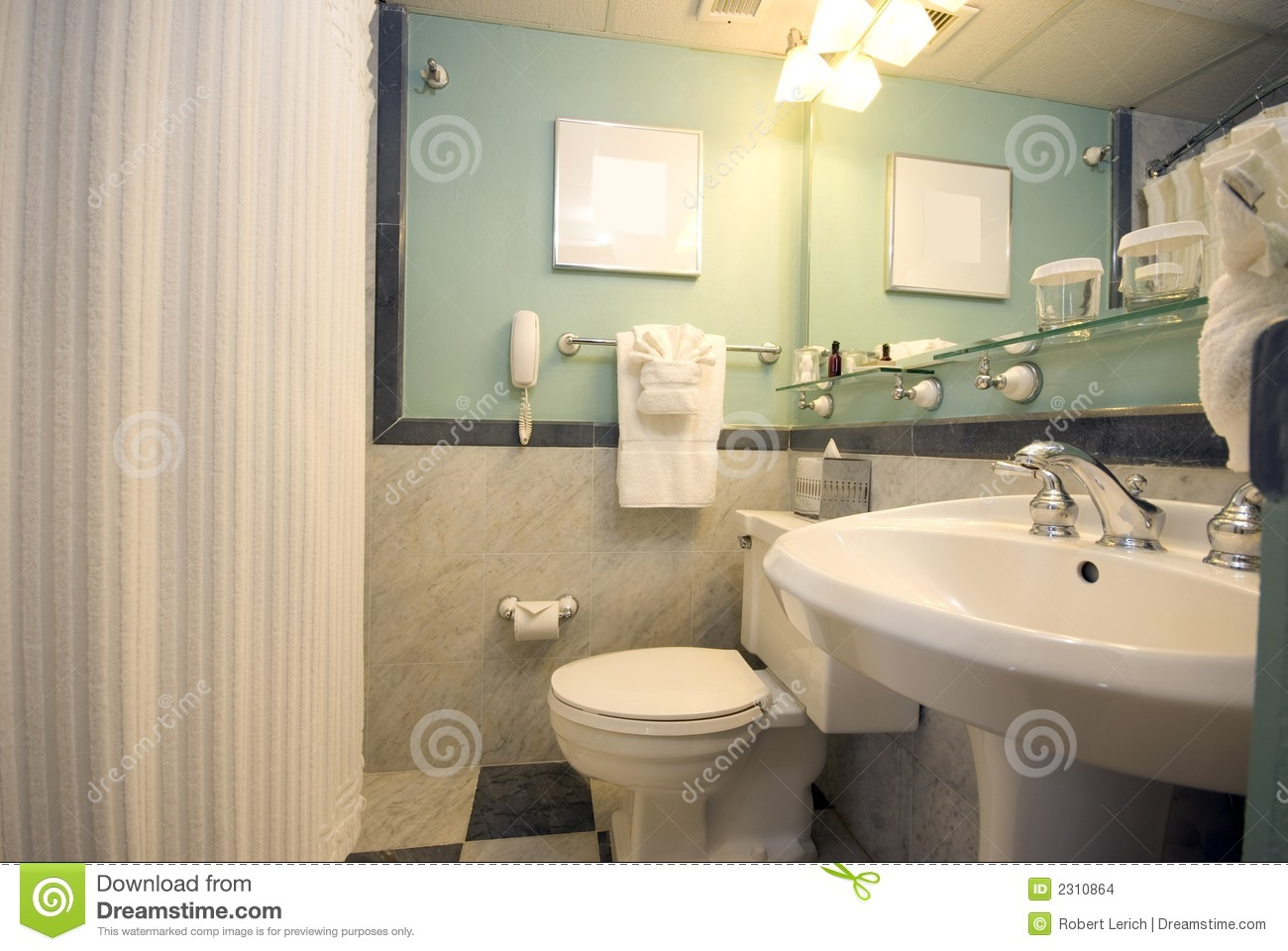 Luxury Hotel Bathroom Stock Images Image 2310864
