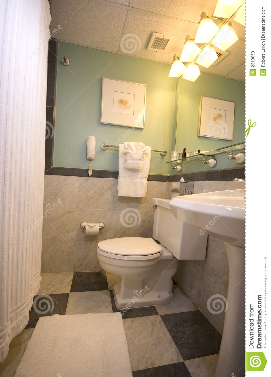 Luxury hotel bathroom stock photo image of mirror for Y hotel shared bathroom
