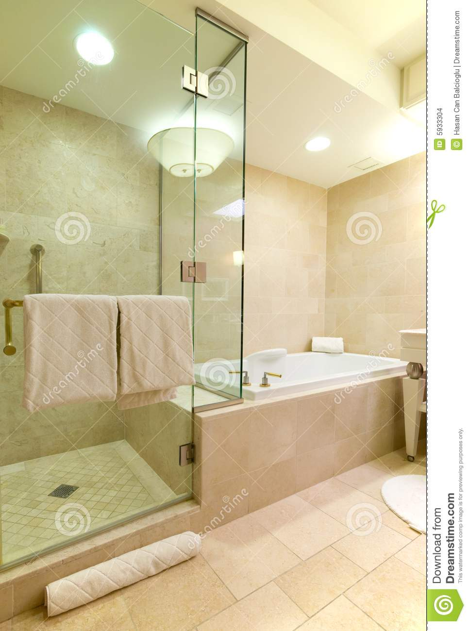 Luxury hotel bathroom stock images image 5933304 for Y hotel shared bathroom