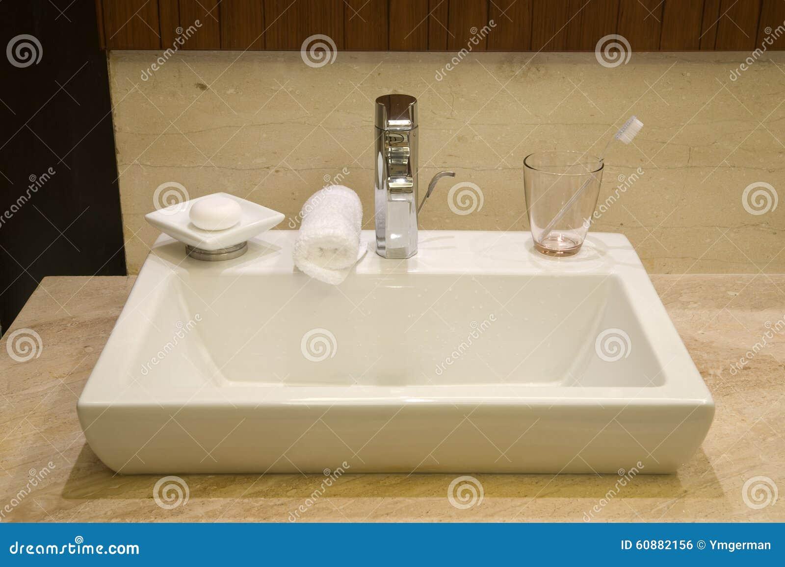 Luxury Hotel Bathroom Stock Photo Image Of Hotel Elegance 60882156
