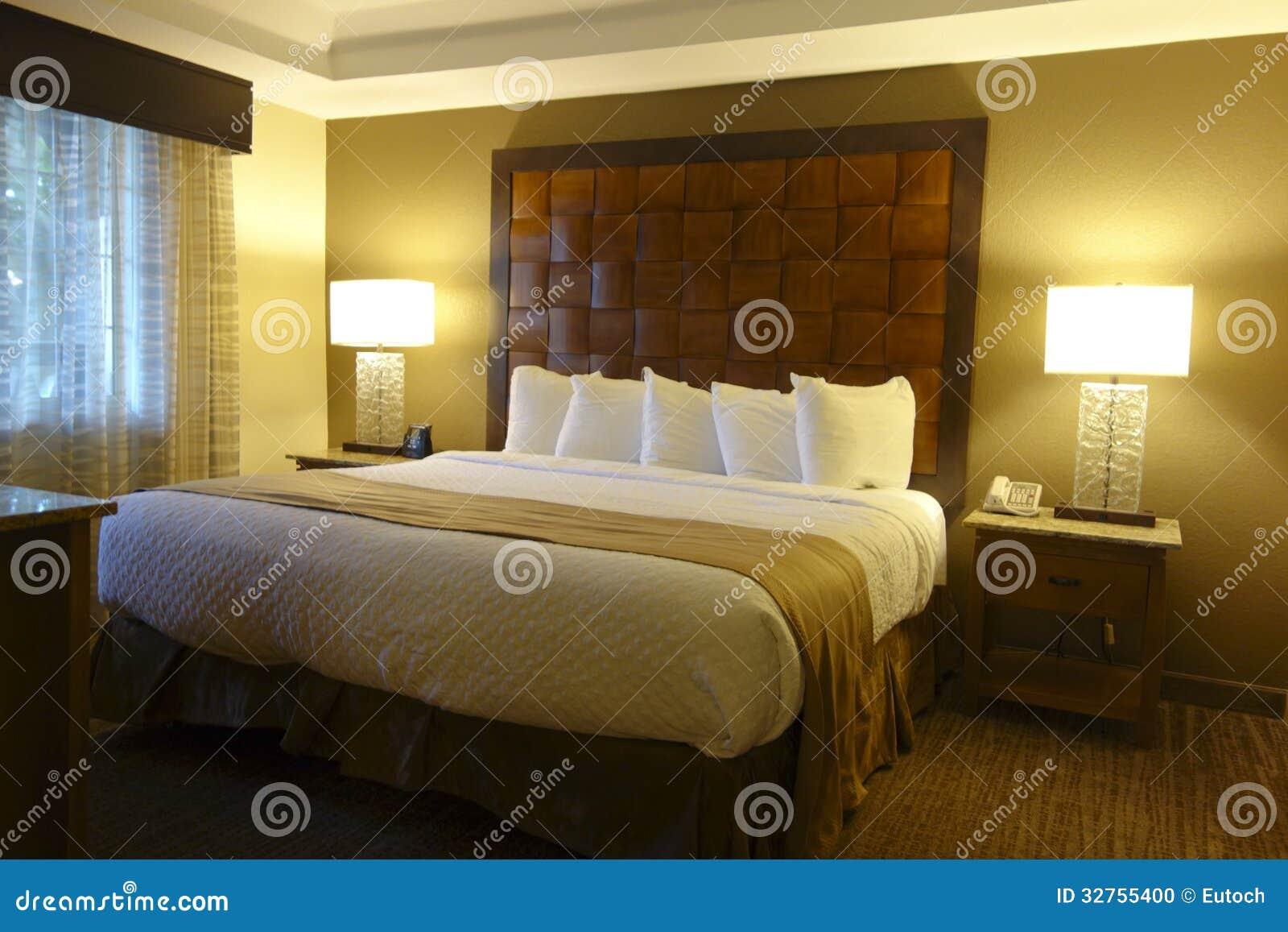 Luxury Hotel Bedroom Stock Photo Image Of Pattern Inside 32755400