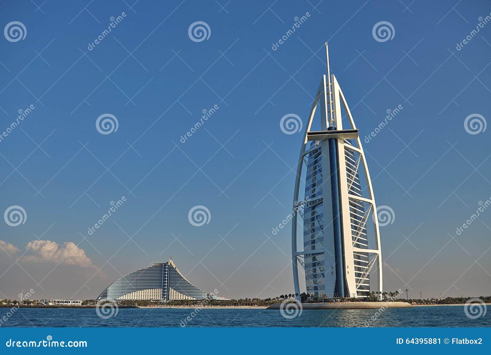Luxury Hotel Burj Al Arab In Dubai Editorial Photo