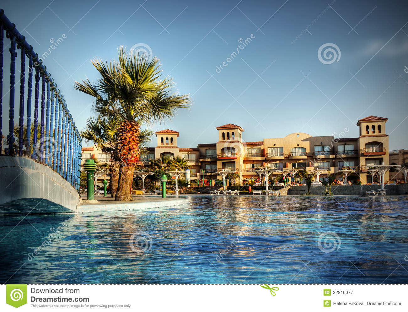Luxury Hotel Complex Travel Africa Royalty Free Stock Photography Image 32810077