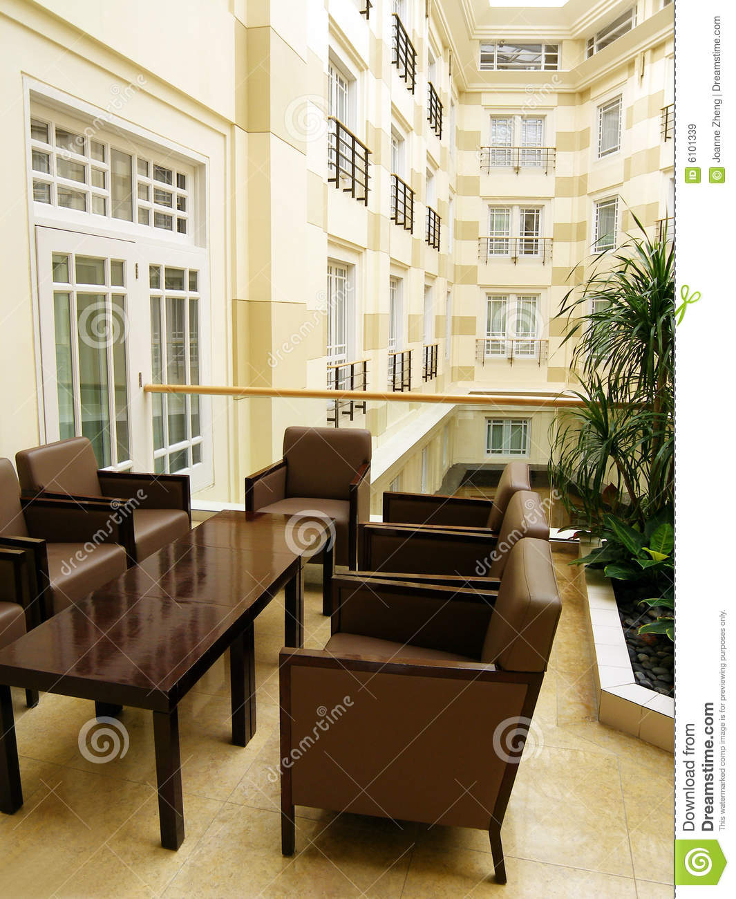 luxury hotel interior photo royalty free stock images - image: 6101339
