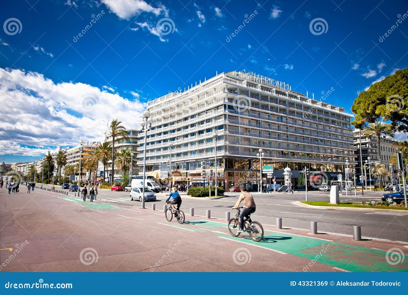Luxury hotel le meridien in nice france editorial stock for Luxury hotels in nice