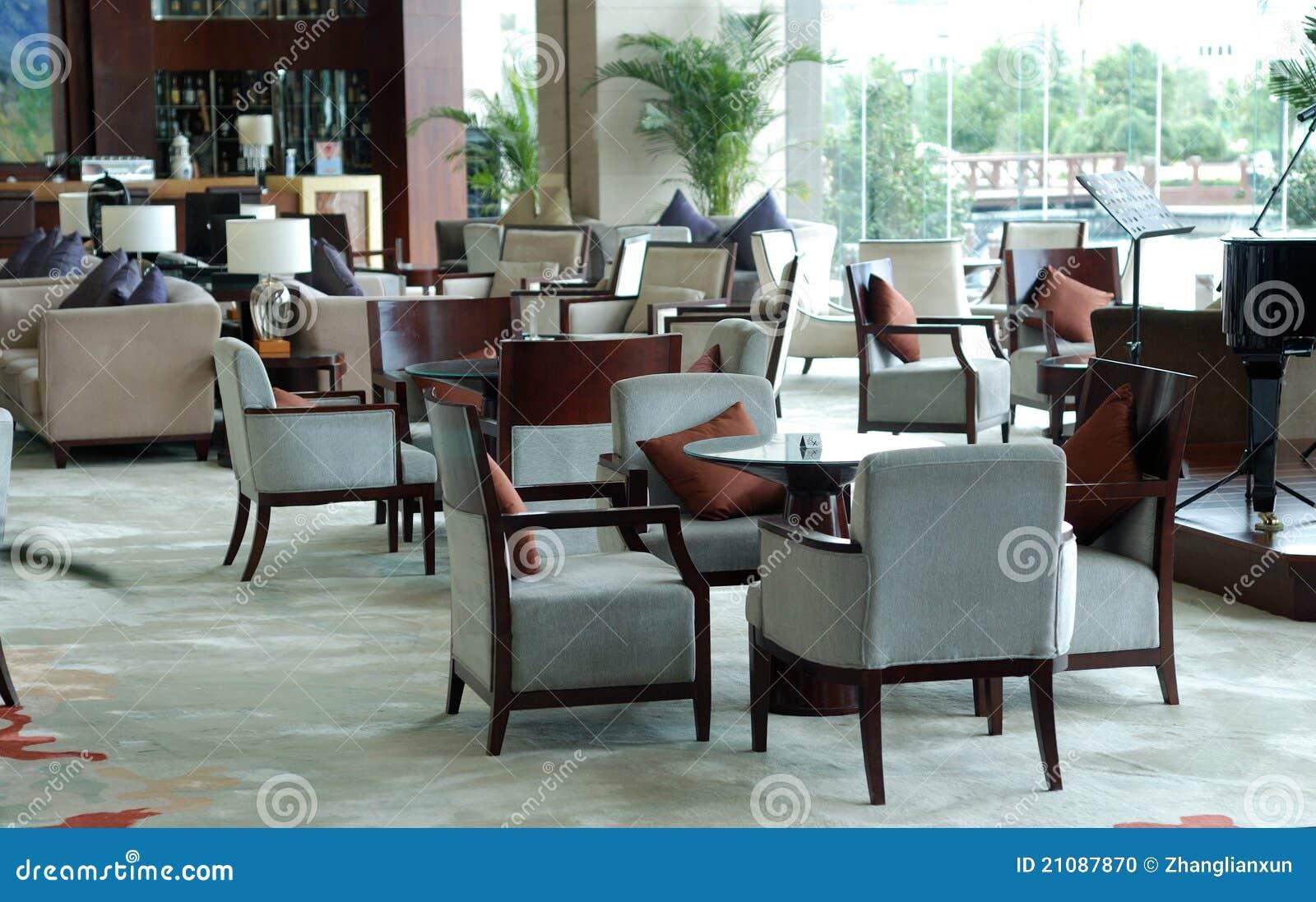 Luxury Hotel Lounge Area Stock Photo Image Of
