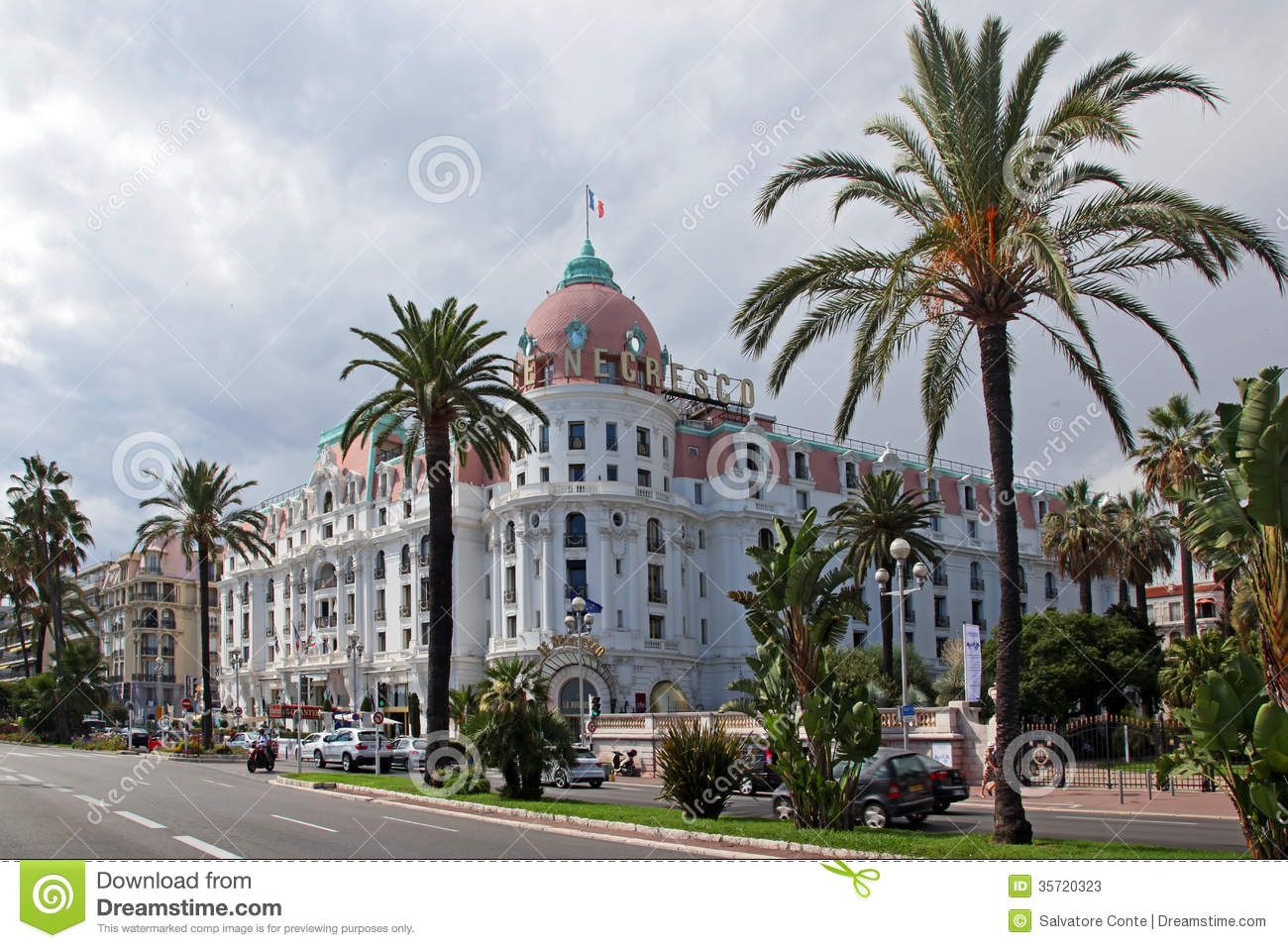 Luxury hotel negresco editorial stock photo image 35720323 for Luxury hotels in nice