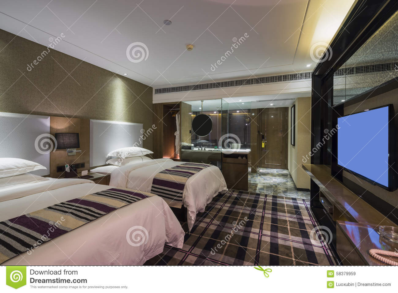 Luxury hotel room stock photo image 58379959 for Luxury hotels in nice