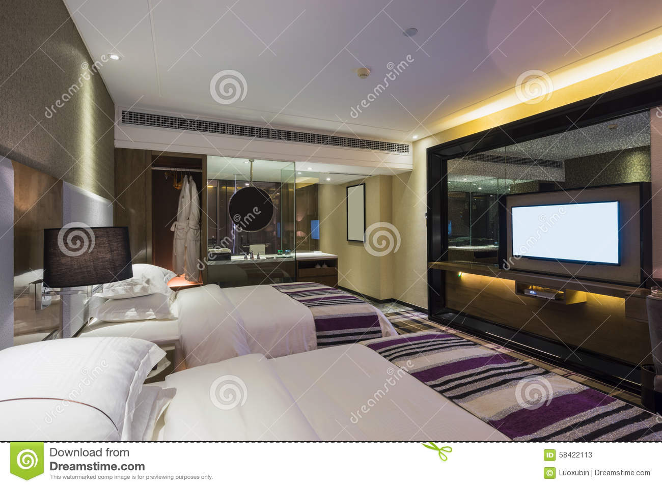 Luxury hotel room stock photo image 58422113 for Luxury hotels in nice