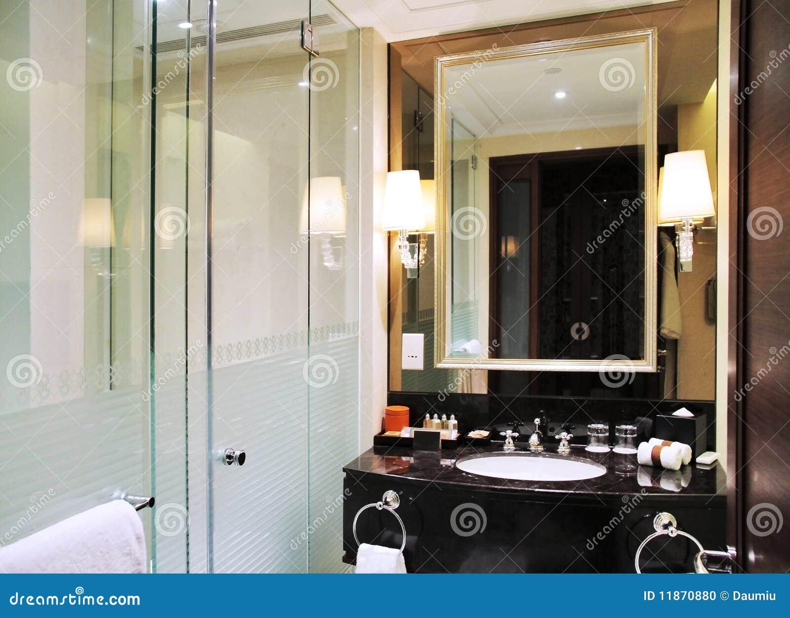 Luxury Hotel Washroom Stock Photo Image 11870880