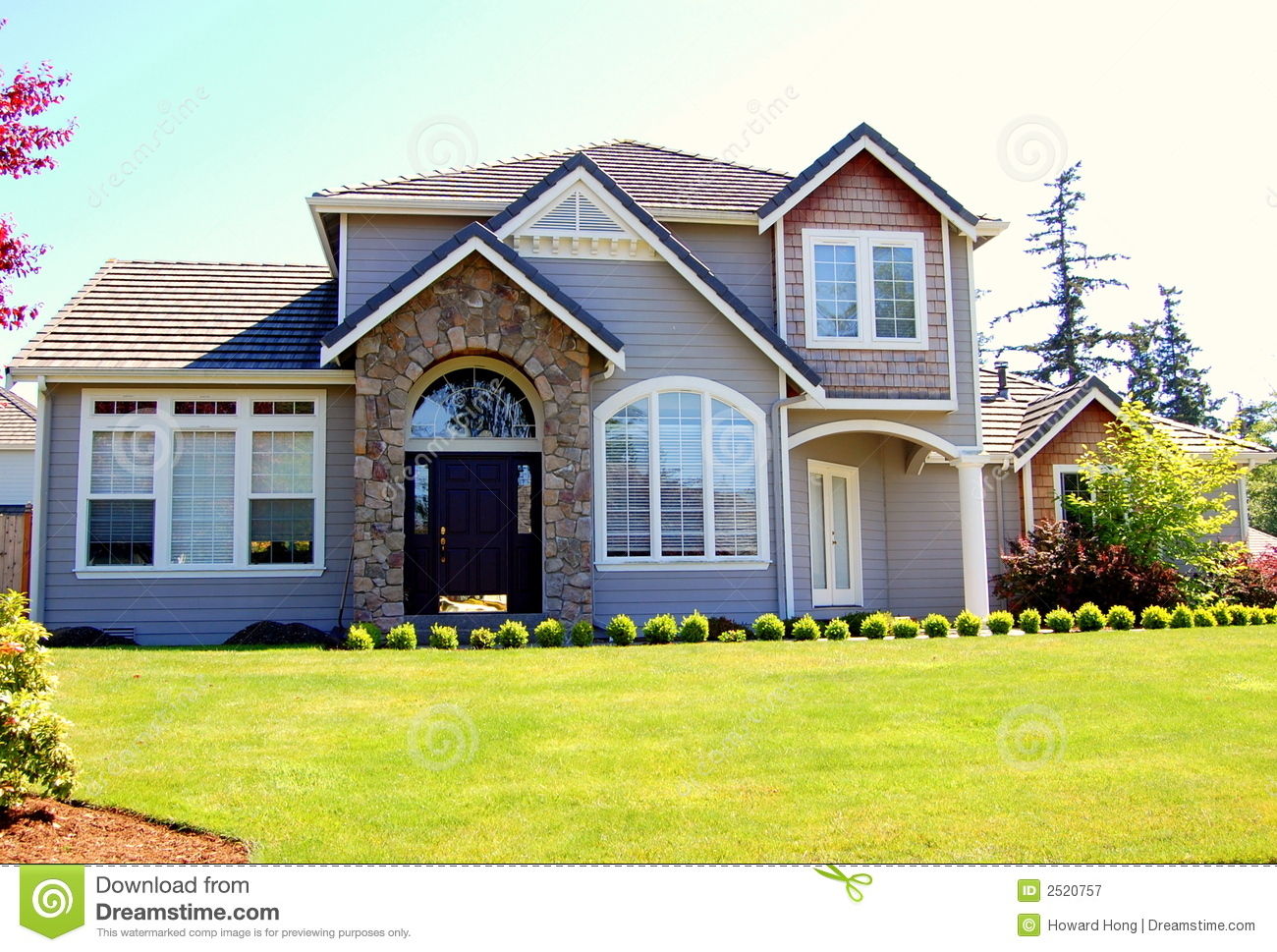 Luxury house royalty free stock photography image 2520757 for Free luxury home images