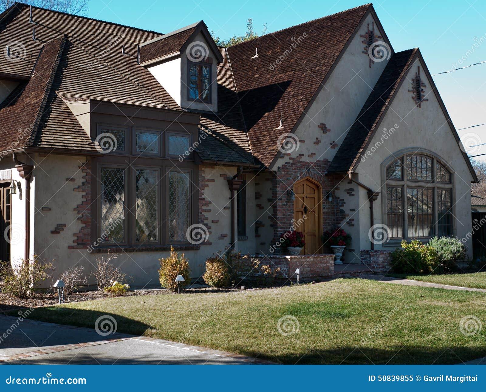 Luxury house and frontyard stock photo image 50839855 for Luxury home windows