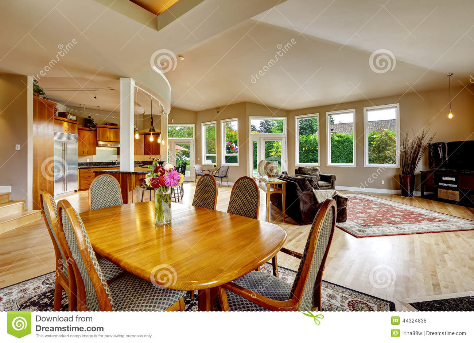 Luxury house interior real estate in wa stock photo - How to take interior photos for real estate ...