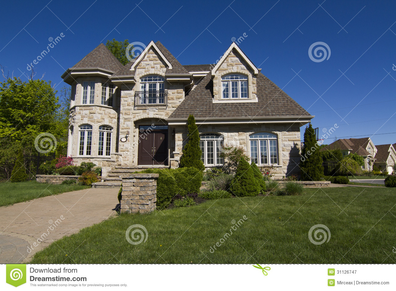 Luxury house royalty free stock photography image 31126747 for Free luxury home images
