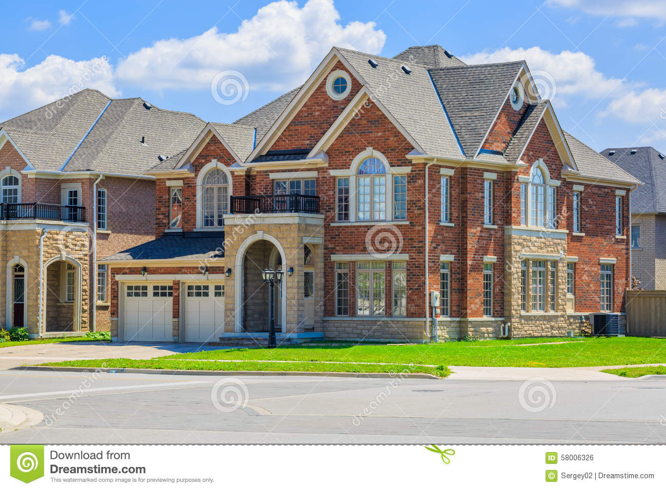 Magnificent Luxury Houses In North America Stock Photo Image 58139754 Largest Home Design Picture Inspirations Pitcheantrous
