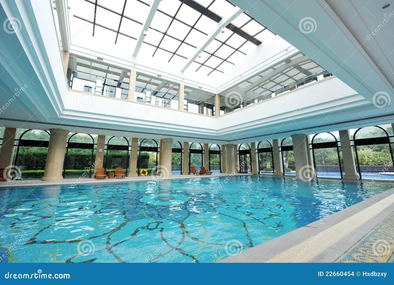 Luxury Indoor Pool Stock Images Image 22660454