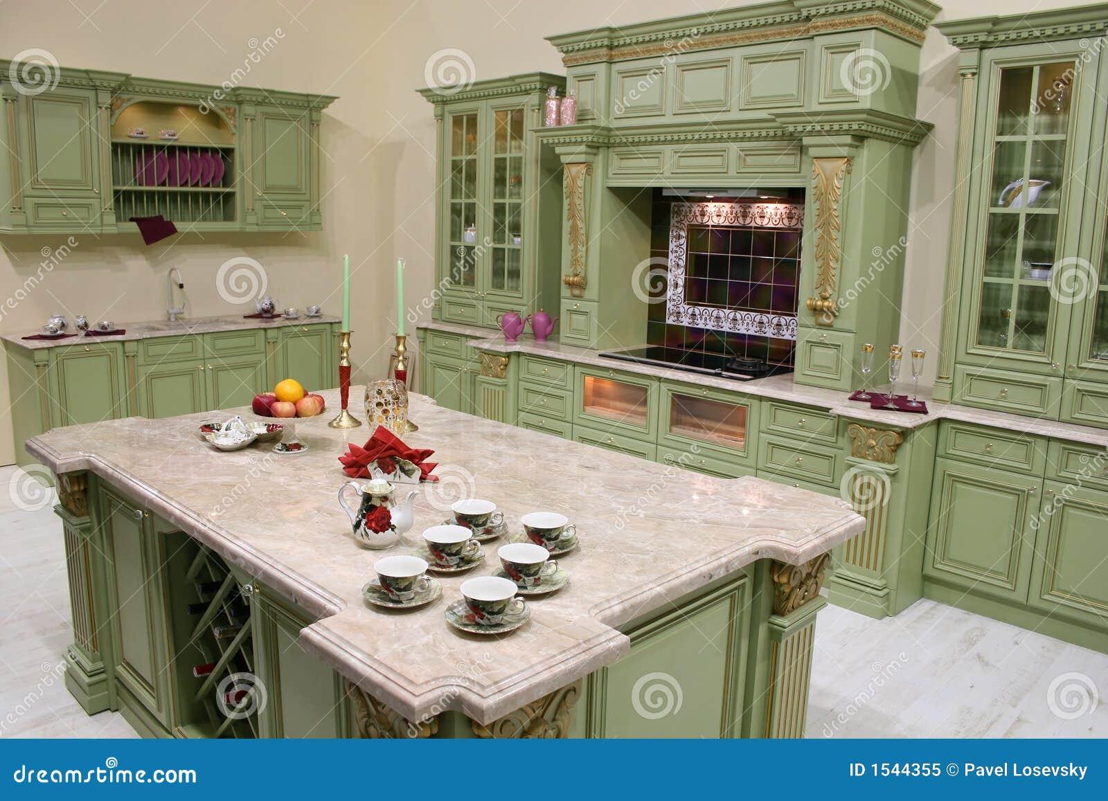 Luxury Kitchen Luxury Kitchen Royalty Free Stock Photo Image 1544355