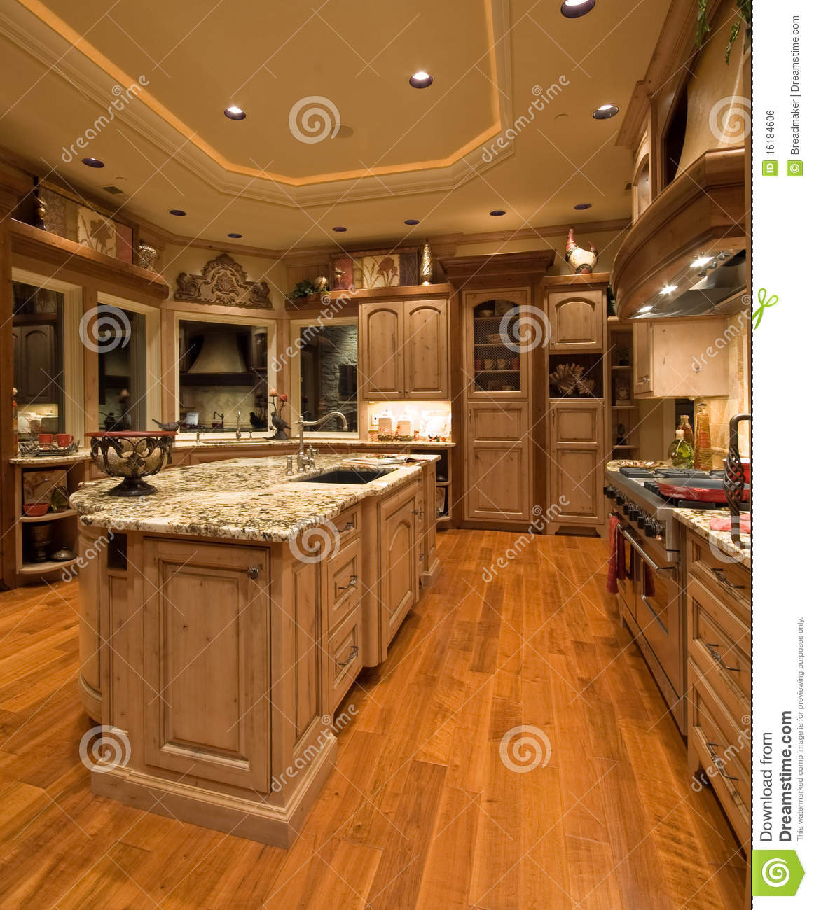 Luxury kitchen royalty free stock image image 16184606 for Luxury kitchen