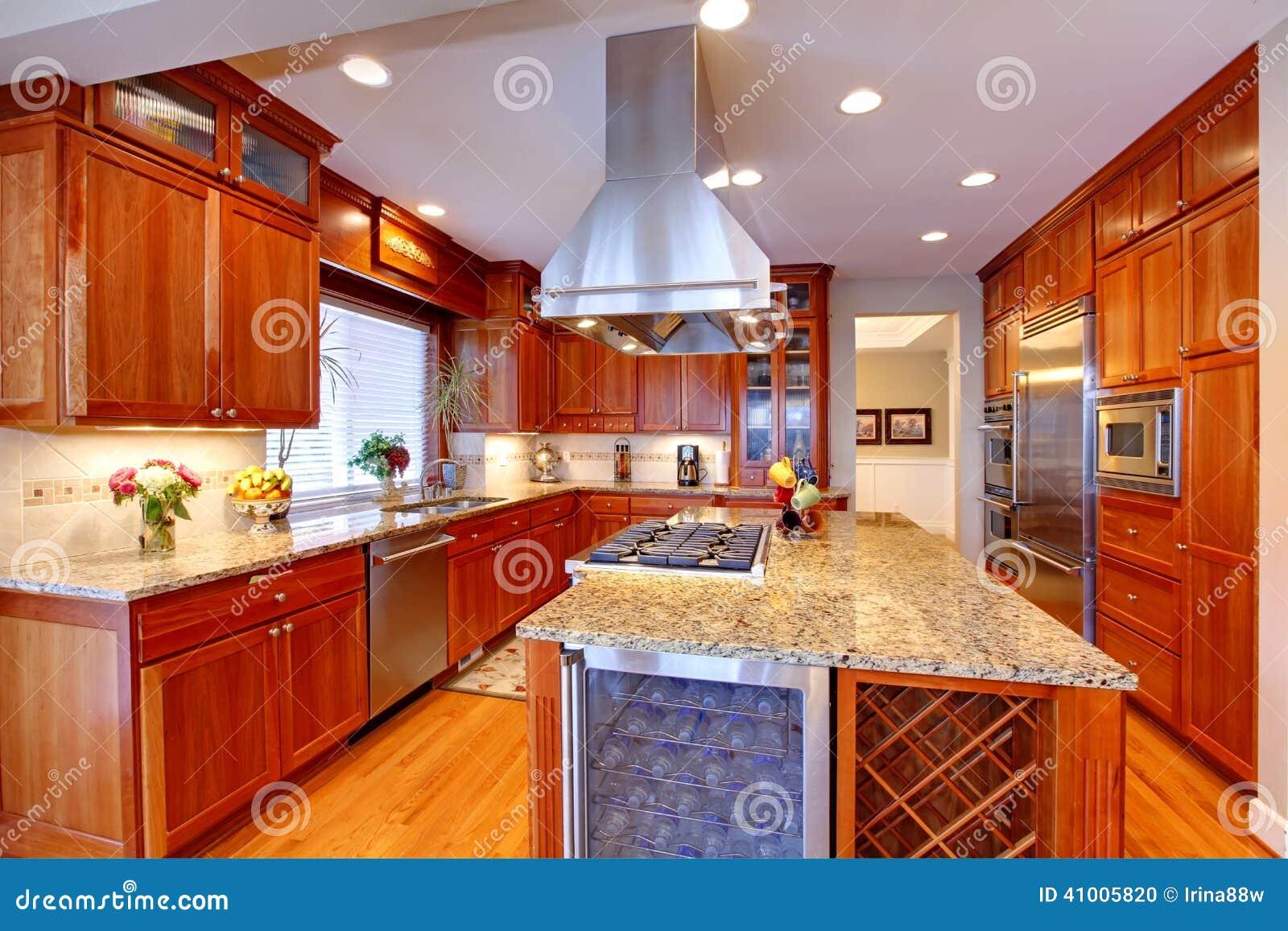 Luxury kitchen room stock photo image 41005820 - Luxury kitchen room ...