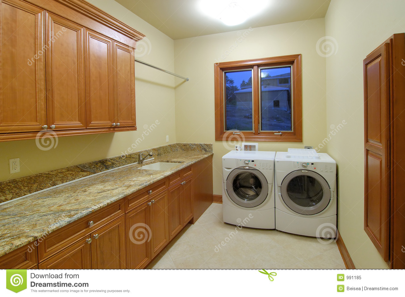 Luxury Laundry Room Stock Image Image Of Hardwood Light